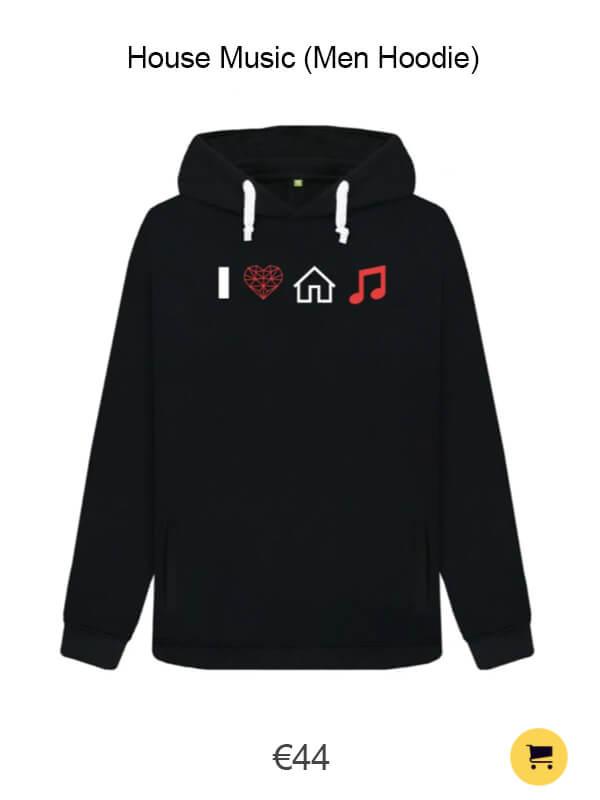 House Music (Men Hoodie)