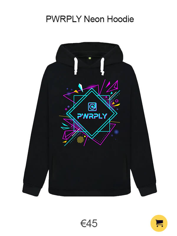 PWRPLY Neon Hoodie